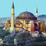 The Haghia Sophia in Istanbul, Turkey